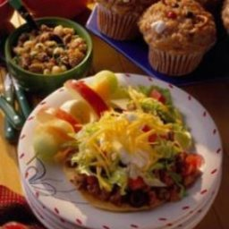 Tostados with Pork