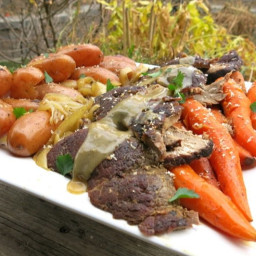 Traditional Canadian Prairie Pot Roast