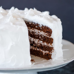 Traditional Devil's Food Cake