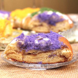 Traditional Mardi Gras King Cake Recipe