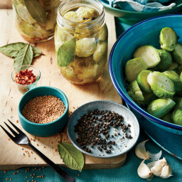 Traditional Quick-Pickled Brussels Sprouts Recipe