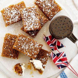 Treacle slice