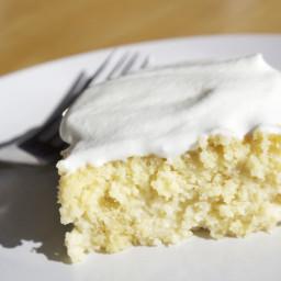 Tres Leches Cake (gluten free)