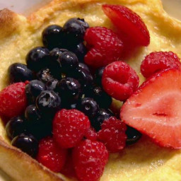Tri-Berry Oven Pancakes