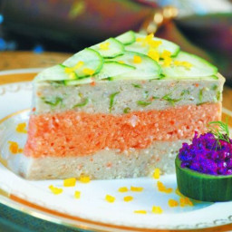 Tri-Color Gefilte Fish