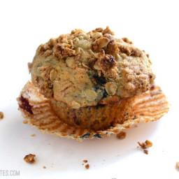 Triple Berry Oat Muffins
