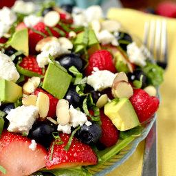 Triple-Berry Summer Salad
