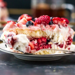 Triple Berry Tiramisu