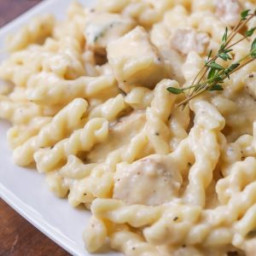 Triple Cheddar Chicken Pasta
