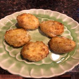 Triple cheese rice balls