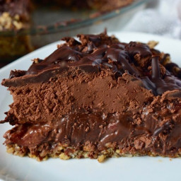 Triple Chocolate Cherry Pie