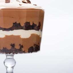 Triple-Chocolate Trifle