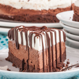 Triple Chocolate Mousse Cake (GF)
