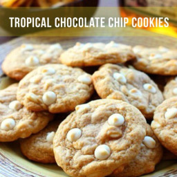 Tropical Chocolate Chip Cookies