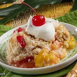 Tropical Fruit Dump Cake