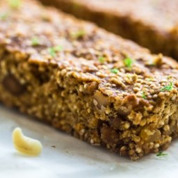 Tropical Quinoa Protein Bars