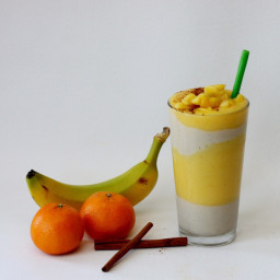 Tropical Winter Smoothie/Parfait