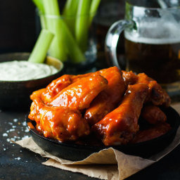 Truly Crispy Oven Baked Buffalo Wings