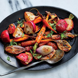 Try TheseRoasted Spring Vegetables With Mustard-Sherry Vinaigrette