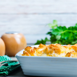 Try this recipe for Mindful's Healthy Holiday Breakfast Casserole.
