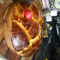 Tsourekia- Greek Easter Bread