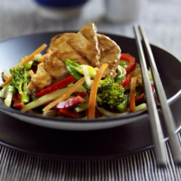 Tuna Asian Stir-Fry
