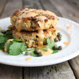 Tuna Cakes with Jalapenos and Cilantro