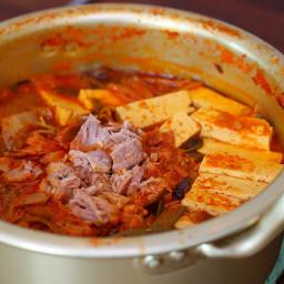 Tuna Kimchi Jjigae (Stew)