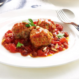 Tuna meatballs with fresh tomato sauce