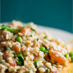 Tuna Risotto from the Pantry