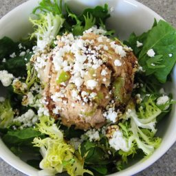 Tuna Salad On Mixed Greens