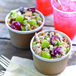 Tuna Salad with Grapes and Lemon Tarragon Dressing