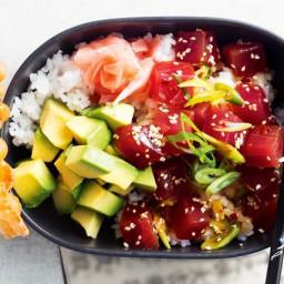 Tuna Sashimi Bowl