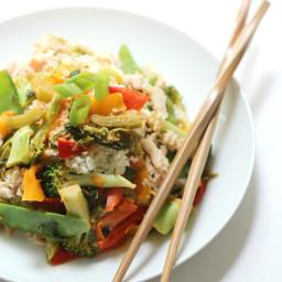 Tuna Thai Red Curry