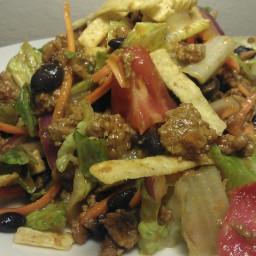 Turkey and Black Bean Taco Salad