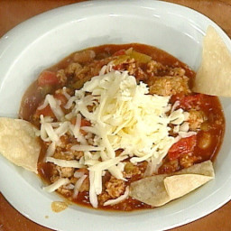 Turkey and Hot Sausage Chili