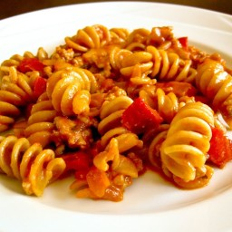 Turkey and Red Pepper Rotini