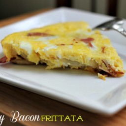 Turkey Bacon Frittata Recipe