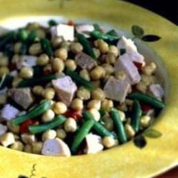 Turkey Beans 'n Greens Salad