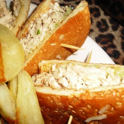 Turkey - Chicken Salad Sandwiches