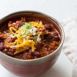 Turkey Chili (with Leftover Turkey)