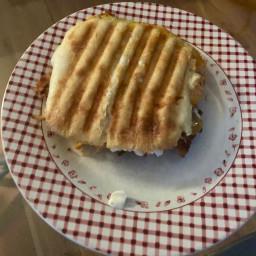 Turkey club panini