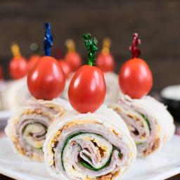 Turkey Club Pinwheels