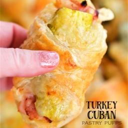 Turkey Cuban Pastry Puffs