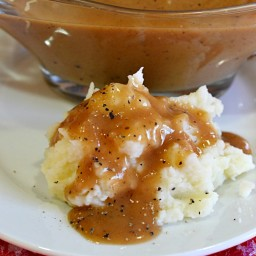 Turkey Gravy Without the Drippings