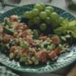 Turkey Ham and Barley Salad