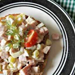 Turkey Ham Salad