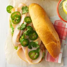 Turkey-Jalapeno Sandwiches Recipe