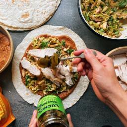 Turkey Leftover Burrito
