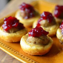 Turkey Meatball Muffin Cups